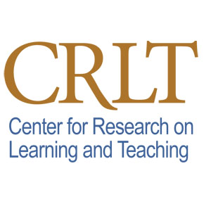 CRLT: Center for Research on Learning and Teaching Logo