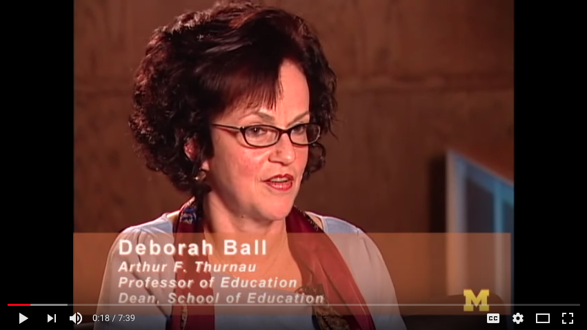 Professor Deborah Ball video thumbnail
