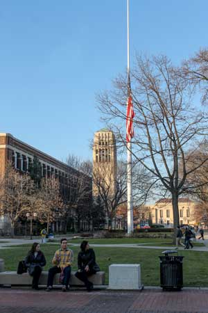 photo of the Michigan Diag