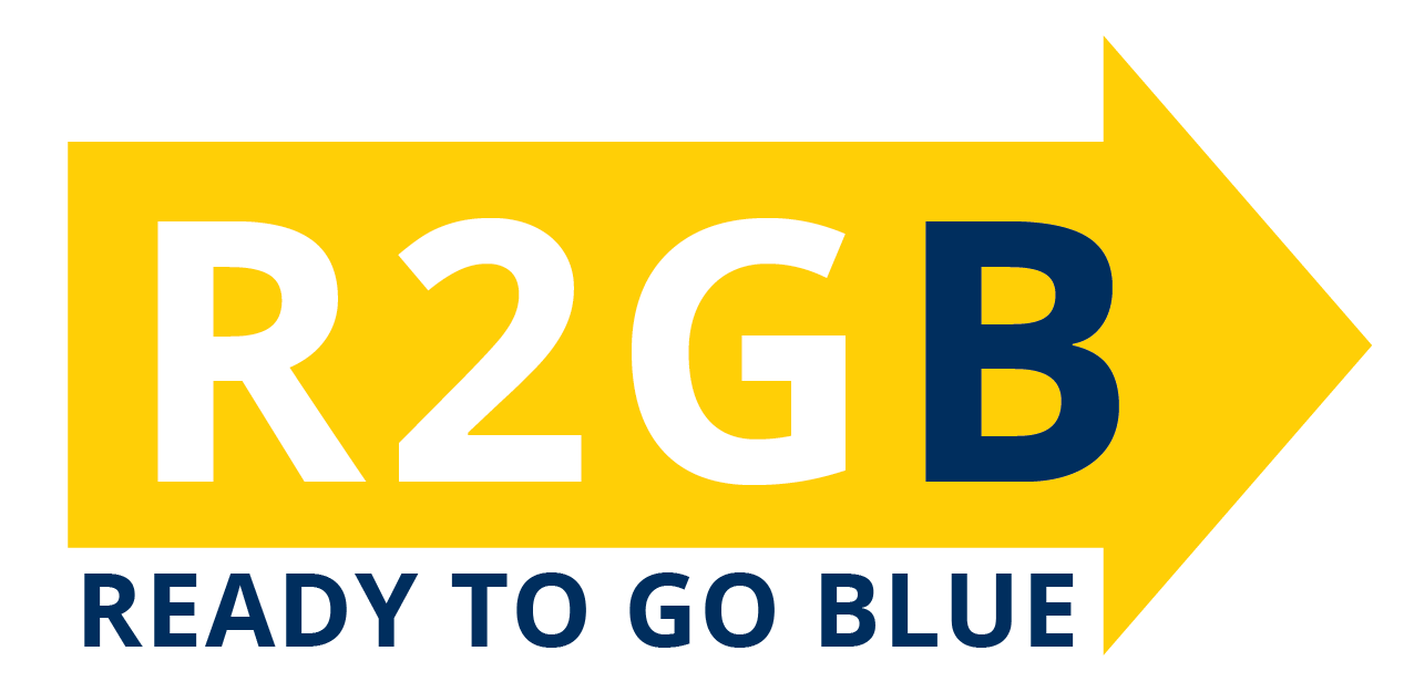 Ready to go Blue logo